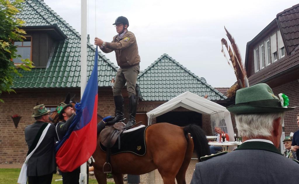 Schützenfest im Anmarsch